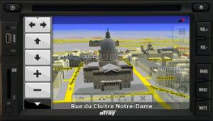 GPS Ntray 6783 Hyundai, 닛산, 미츠비시 의 Outlander를 가진 차 DVD 플레이어