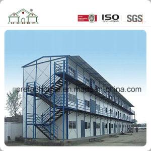 Cheap préfabriqué Camp Camp de travail de deux étages d'hébergement