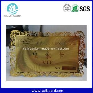 Scheda della scheda VIP del metallo di affari dell'acciaio inossidabile per personalizzato