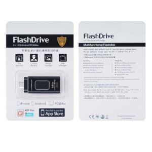 OTG перо диск 4в1 металлический флэш-накопитель USB для Ios/Android/Tablet PC/тип с Memory Stick Micro-USB флэш-накопитель