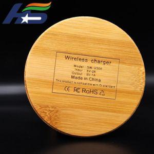 Новейшие 10W быстро дерева бамбук Wireless зарядное устройство для iPhone аксессуары для телефонов для мобильных ПК