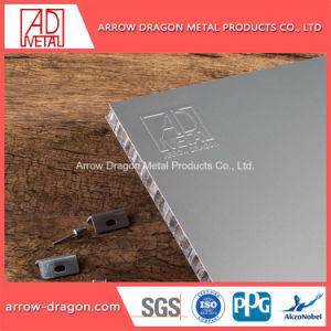 De PVDF Anti-Seismic à prova de painéis de alumínio alveolado para sistemas de visualização/ Placa de exposições