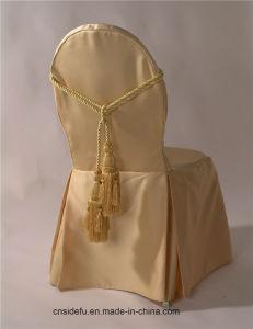 100 algodão ou poliéster Cadeira de luxo Tampa, Tampa da Cadeira de casamento por grosso