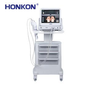 9 cabeças de remoção dos vincos Hifu Tratamento Médico de ultra-sons de beleza a máquina