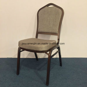 Duable Hotel-Eisen, welches das Bankett speist Stuhl stapelt