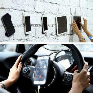 Dovunque supporto di gomma Nano dell'automobile del supporto appiccicoso del telefono dell'autoadesivo dei rilievi del gel