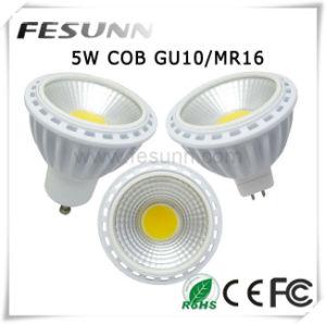 6W GU10 MR16 LED COB Spotlight mit 40 oder 60 Degree