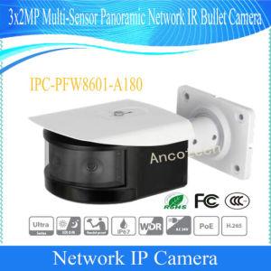 Multi-Sensor van Dahua 3X2MP de Panoramische Camera van de Kogel van IRL van het Netwerk (ipc-pfw8601-A180)