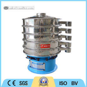 Mini vaglio oscillante 400mm per il setacciamento della farina di frumento