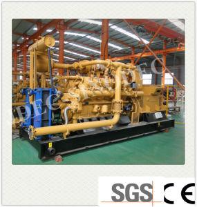 Fabricado en China Tipo de salida del grupo electrógeno de biogas de 600kw