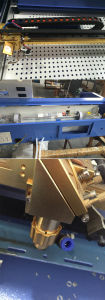 プラスチック木MDFの彫版のための小型レーザーの彫版機械