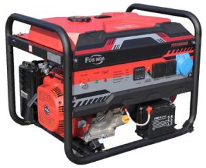 Prezzo del generatore monofase a tre fasi/, generatore 5kw della benzina del motore da vendere