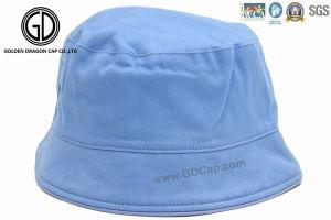 習慣の100%年の綿のよいブランク簡単な子供の赤ん坊のバケツの帽子