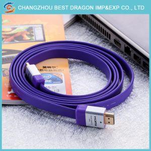 HDMI Zink-Legierungs-hohes Definition-Kabel 1.4 2.0 Ausgabe 4K Fernsehapparat