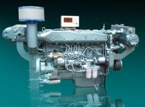 아주 새로운 물 Sinotruk 냉각 바다 디젤 엔진 Wd615