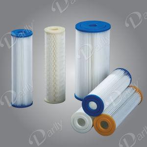 Cartuccia di filtro pieghettata poliestere da 10 pollici