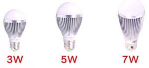 Lâmpada LED 3W com marcação RoHS (GN HP CW-28353W-G50-E27-SA)