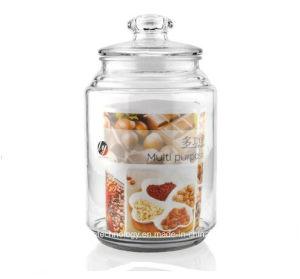 記憶キャンデーの蜂蜜または塩のためのSpeicificationの大きいガラス瓶