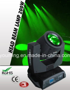 200W Philips R5 Cabezal movible de haz de luz de iluminación de escenarios moviendo haz R5 (200)