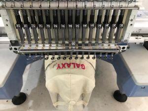 고속은 6/9/12/15의 바늘 형제와 Tajima 자수 기계 가격으로 유사했던 중국에 있는 단 하나 모자 자수 기계 가격을 전산화했다
