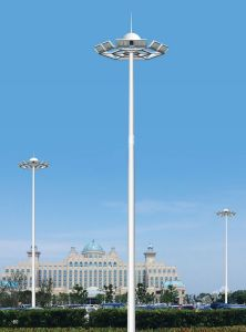 La Plaza, Dock, la carretera, el aeropuerto de alta alta torre de iluminación del mástil Mástil