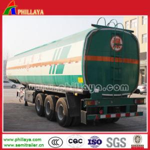 半2axles 35000litersの燃料のタンク車のトレーラーオイルの鋼鉄タンク