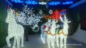 LED Christmas Decorative Motif Licht Net Lighting