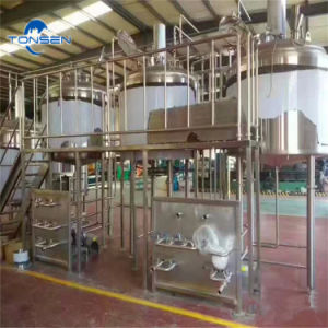 A Cervejaria Taproom equipamentos com sistema de brassagem turnkey, com balde de fermentação em aço inoxidável para Braumeister especializados da China Preço de fábrica