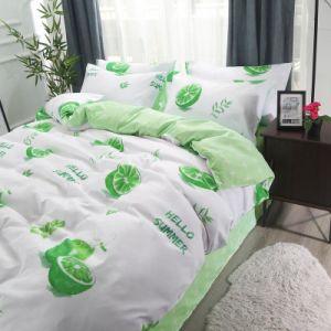 Preiswerte Preis-Qualität heiße verkaufengedruckte Microfiber Polyester-Bettwäsche
