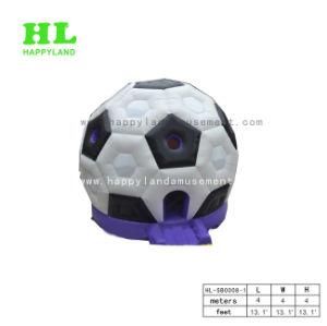 サッカーボールのフットボールの空気膨脹可能な警備員の家