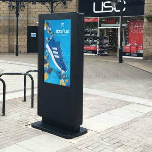 Yashi 버스 정류소 LCD 실시간 정보 49 인치 옥외 디지털 Signage
