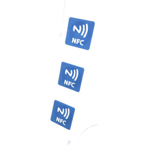 ID를 위한 뒤 스티커를 가진 사업 RFID 꼬리표