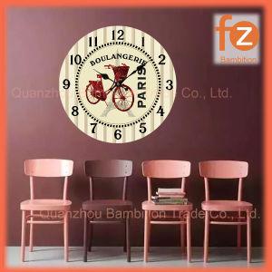 Caliente la venta de varios estilos innovadores comercio al por mayor Reloj de pared Pared Vintage Antiguo reloj redondo de madera para la decoración del hogar016006-61 Fz.