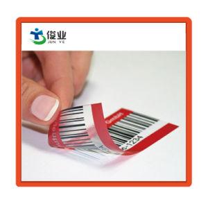 Custom Clear ПВХ этикетка для упаковки расширительного бачка