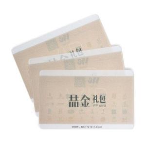 Transparent en PVC Translucide Clair/carte d'affaires