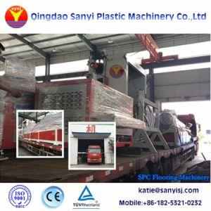 Macchina commerciale di plastica della pavimentazione di Spc del macchinario dell'espulsione della pavimentazione del vinile