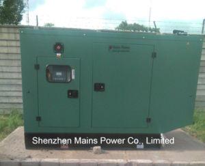 33kVA bewertende Cummins leise Dieselgenerator-Reservestromerzeugung