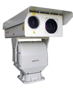 De garnalen bewerken Infrarode IP van de Visie van de Nacht van het Toezicht van de Laser PTZ Camera