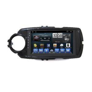 DIN duplo sistema estéreo para automóvel Toyota Yaris 2017 Leitor de DVD