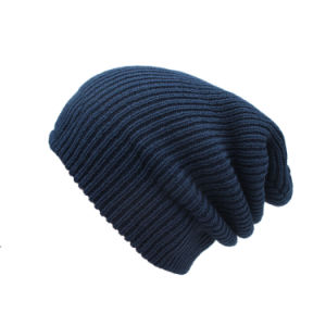 安いデザイン冬によって編まれる帽子のカスタム帽子の帽子