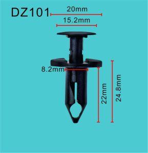 Schutzvorrichtung-Schild-Stoßschild-Haltering-Klipp-Befestigungsteil