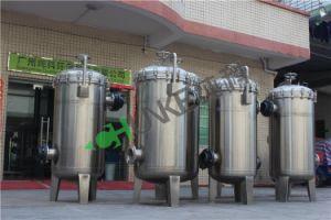 Acier inoxydable 135t sac pour le traitement de l'eau du boîtier de filtre