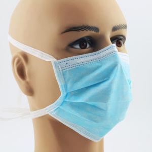 La FDA la certificación CE Médica 3 Capas desechables tipo de máscara I &II& Iir máscara quirúrgica (BFE>=95%/98%)