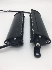 Горячая продажа 3W КРИ мини одна строка под руководством по просёлочным дорогам Lightbar 7.4inch 18W Car штанги освещения
