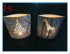 Luz nocturna, creativa regalos creativos de papel, papel de la luz de noche talla