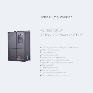 Fase 3 1.1kw 380V na bomba de água solares com Inversor do Motor Síncrono
