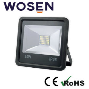 節電Sanan正方形20W 120° ビーム角のアルミニウム洪水の照明LED
