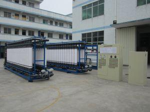 Sistema de ultrafiltración tratamiento del agua de la máquina de filtro de agua mineral.