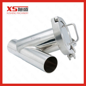 38,1 mm en acier inoxydable Butt-Welding sanitaires y crépine du filtre