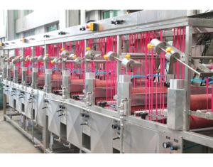 Bandes élastiques continu de la machine de teinture et finition